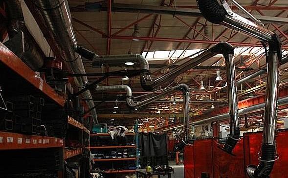 Projekt oraz wykonanie odciągów wentylacyjnych, Chemar Zakład Rurociągów