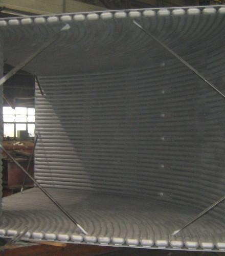 Wykonanie elementów wchodzących w skład odciągu gazów z pieca elektrycznego łukowego, Huta Celsa