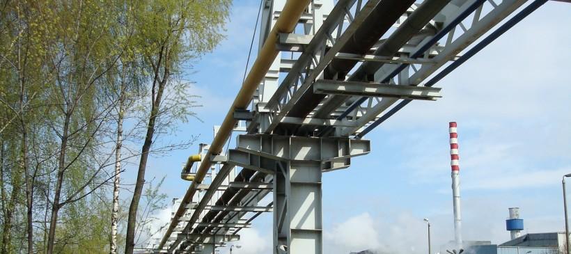 Projekt oraz wykonanie rurociągu tlenu do Pieców Elektrycznych w Stalowni, Huta CMC Zawiercie