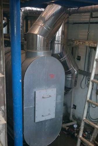 Kocioł odzysknicowy ze spalin pieca cynkowniczego, Zakłady Cynkownicze Termetal