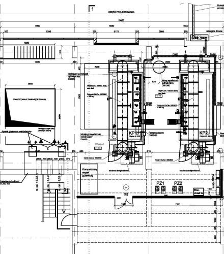 Projekt modernizacji budynku kotłowni na potrzeby zabudowy parowych kotłów zasilanych gazem na terenie Zakładów Chemicznych Alwernia S.A.