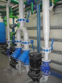 Instalacja odzysku ciepła z wody chłodzącej pieca w Odlewniach Polskich S.A. Starachowice