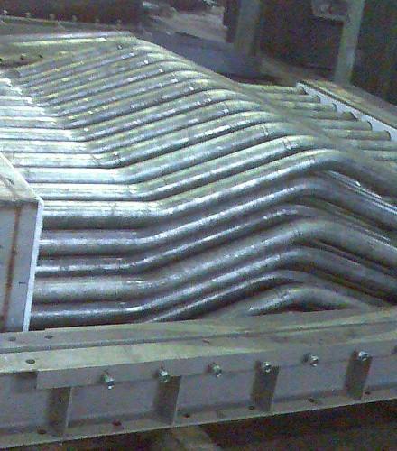 Wykonanie dwóch rekuperatorów dla pieca grzewczego w Walcowni Uniwersalnej Bohumin Czechy