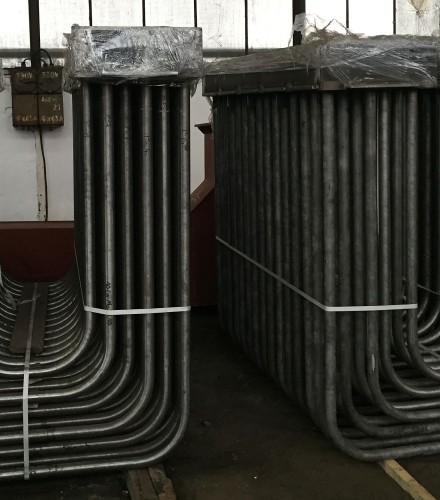 Instalacja odzysku ciepła ze spalin dla pieca z trzonem obrotowym, Huta Bankowa Dąbrowa Górnicza