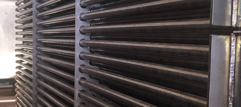 Projekt wraz z dostawą  4 sekcji rekuperatora w zakładzie Walcowni Dużej Huty ArcelorMittal Poland S.A. w Dąbrowie Górniczej.