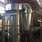 Rekuperator z instalacją do odzysku ciepła spalin z pieca topielno-rafinacyjnego do aluminium, dla BORYSZEW S.A., oddział Nowoczesne Produkty Aluminiowe Skawina