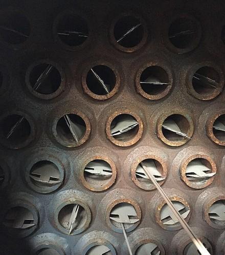Remont instalacji odzysku ciepła ze spalin dla pieca z trzonem obrotowym dla Huta Bankowa Sp z o.o. w Dąbrowie Górniczej