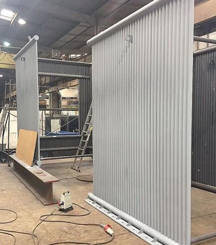 Wykonanie i dostawa komory rozprężno -osadczej na odciągu spalin z pieca elektrycznego łukowego w stalowni huty HSJ Stalowa Wola S.A.