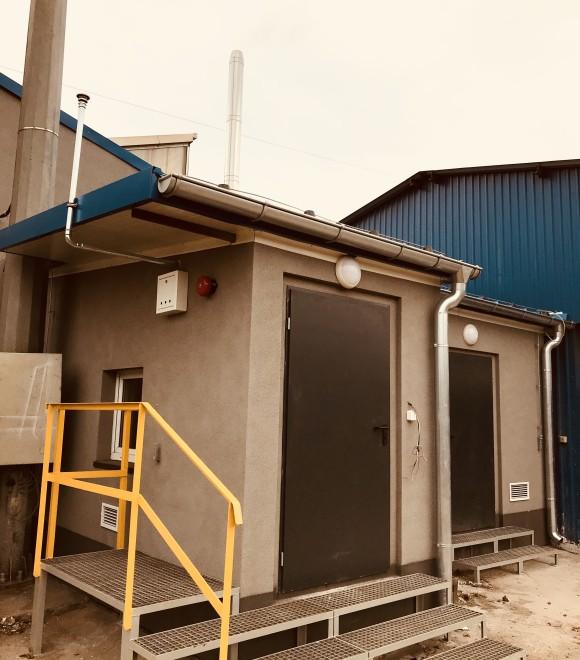 Budowa kotłowni oraz magazynu oleju opałowego, pracującej na cele grzewcze warsztatu Logistyki na terenie CMC Poland Sp. z o.o.